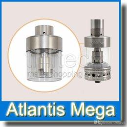 Promotion aspire atlantis méga Aspire Atlantis Mega Tank Kit Clone 1: 1 Amélioration du flux d'air réglable avec système de réservoir innovant et bobines Sub Ohm 2015 Populaire