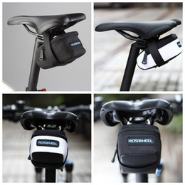 ROSWHEEL Fixed Gear Fixie Road Bike Bicycle MTB Saddle Back Seat Seatpost Cycling Tail Pouch Package Bag M L Size