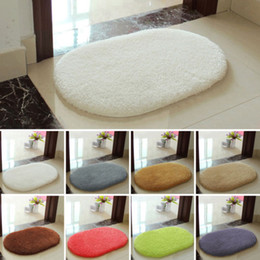Wholesale Carpets Absorbent Memory Foam Non slip Bath Bathroom Kitchen Floor Shower Mat Rug Plush Soft Memory Foam Bath Bathroom Floor Carpets