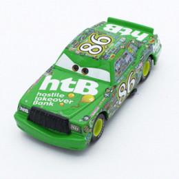 Wholesale HOT selling Pixar Cars Diecast No Chick Hicks Metal Toy Car car dvd player set