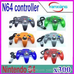 Pc shock del sistema en Línea-Nuevo controlador de manija de mando de joystick sistema de juego para Nintendo 64 N64 200 PC ZY-PS-05