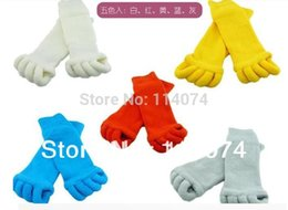 Wholesale Comfort Foot Toes Alignment Socks Stretch Tendon Relieve Pain Feet for Men Women