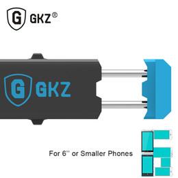 Promotion vent mount gps Gros-GKZ R2 luxe Support de téléphone mobile Car Air Vent Mount Mobile Support Support GPS 360 Rotation support ajustable pour les moins de 6