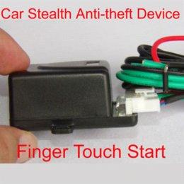 Dispositivos anti-robo de coches en Línea-Coche El dispositivo antirrobo de la inducción del tacto del coche para el sistema de alarma del coche / la tableta del tacto del dedo para el motor de coche del comienzo M6220