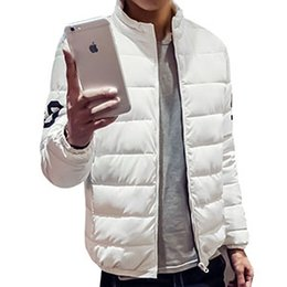 Fall-New Style Mens Coat Winter Rib Sleeves 100% Polyester Material Jacket Coat Mens Casual Stand Collar Solid Jacket 4XL H01