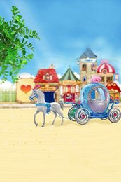 Wholesale 200CM CM Mini baby child photography Carriage call background one hundred days baby photos LK