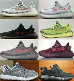 2017 turtle dove 350 boost v2 and v2 pirate black,moonrock,oxford tan 350 shoes Men women Sneaker Shoes With Box size 36-48