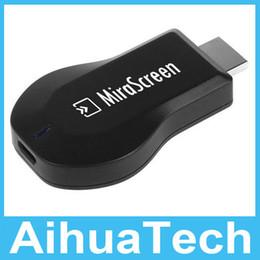 100pcs lot Free DHL MiraScreen OTA TV Stick EasyCast Wi-Fi Display Receiver Dongle better than DLNA Airplay Miracast Airmirroring Chromecast
