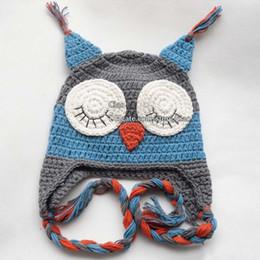 Wholesale Knit Winter Hats Baby - Baby Crochet Hats Boys Girls Caps Hats Animal Winter Hats Infant Beanie Hat Caps Children Caps Fashion Hand Knitted Caps Kids Cap Wool Cap