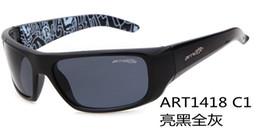 Wholesale Classic fashion Men woman A987 Top ARNETTE sunglasses UV400 Polarized radiation Designer masterpie sport colorful sunglasses