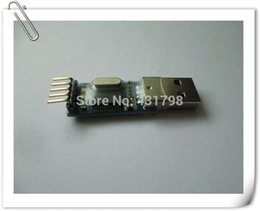 Wholesale USB to TTL serial port in nine upgrade Brush board PL2303HX module STC microcontroller download cable