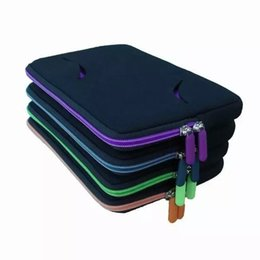 Wholesale The Multifunction Memory Foam Protective Sleeve Tablet With Stand Holder Bar Colorful Zipper For iPad Mini