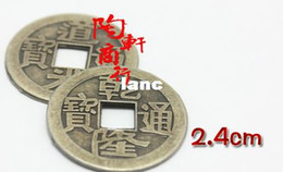 Wholesale 100pcs mm Chinese Feng Shui Lucky China Ancient Coins set Educational Ten emperors Antique Fortune Money