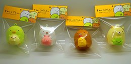 Wholesale-10pcs lots 5cm cute lovely Corner creature squishy in original packaging