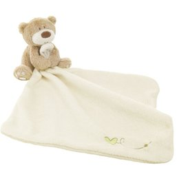 Wholesale 2016 Baby Hand Towel Newborn Cute Bear cm Soft Square Boys Infant Reassure Towel Bear Kids Appease Towels Baby Care Product