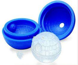 Wholesale Fashion Silicone Interstellar Special Silicone Mold Creative Silicone Ice Hockey Color Blue