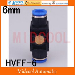 Wholesale HVFF pneumatic joint manual switch valve air fittings mm Tube