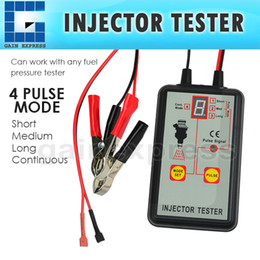 Wholesale E04 Digital Automotive Fuel Pressure Injection Pump Injector Tester V Car Vehicle Quality Diagnostic Tool Modes