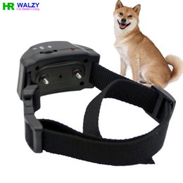Wholesale Automatic Pet Products Dog no Bark Collar Good Quality Training Device Pet Anti Bark Collar