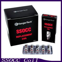 Kanger SSOCC Coil Atomizer Head 0.5ohm 1.2ohm Ni200 0.15ohm Fit kanger subox mini tank Subvod Starter Kit Subtank Mini V2 0266054