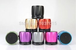 Wholesale 5pcs S13 Mini Wireless Bluetooth Speaker Heavy Bass Portable Speaker Support Answer Call and TF card Retial Box Via HK Post
