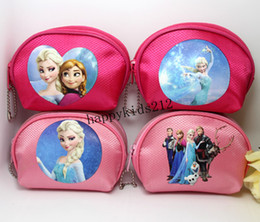 Newest Frozen Purse Elsa Anna Printed Coin Purse Wallet children child Gifts For Holidays Christmas