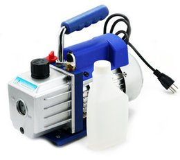 Wholesale 2 Stage V HZ Refrigeration Air Vacuum Pump at CFM Rotary Vane Vacuum Pump Precision Guage Electromagnetic Valve