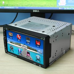 Wholesale 6 inch TFT x Digital Touch Screen Car DVD w Bluetooth GPS Electronic Anti shock Silver