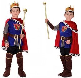 Halloween Cosplay Costume for Children Arabian king Costumes Boys Prince Fancy Dress Party Costume Boys Outfit