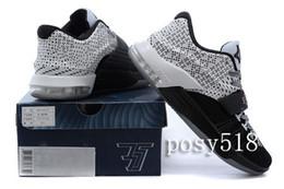 Kd chaussures de vente mens à vendre-2015 Hot KD 7 VII BHM Mois noir d'histoire Sneakers, KD7 VII 2015 Nouvelle arrivée Kd Mens Chaussures de basket à vendre 40 ~ 46