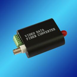 Wholesale Mini V1D to Optic Media Converter Mini V1D port Video Port RS485 over Fiber Transceiver km SM SX