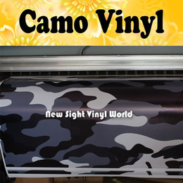 Jumbo Elite Blue Camouflage Vinyl Wrap Roll Large Blue Camo Wrapping Vinyl Sticker Bubble Free Car Wrapping Size:1.50*30m Roll