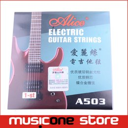 Wholesale Alice A503SL inch mm st High E First String for Electric Guitar New Encordoamento MU0252