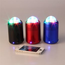 Top Portable Bluetooth Speakers Universal HIFI Mini Speakers Hot Sale Wireless Mono LED Light Bluetooth Speaker SYS9
