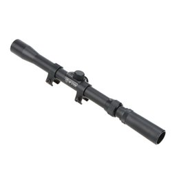 Wholesale 3 x20 Aluminum Alloy Telescopic Sight Rifle Scopes Optics with Mounts for meters Hunting mm rail of guns Y0784