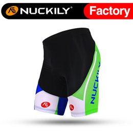 Wholesale Nuckily Men s breathable soft hand feeling bicycle shorts China best quality men s cycling padded short MB003