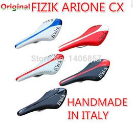 Wholesale original Italy FIZIK arione cx aliante Manganese alloy Rail bow saddle fizik saddle mtb road bike soft seats mountain bicycle saddle