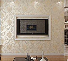 cheap wall paper bedroom online | cheap wall paper bedroom in ... - Carta Da Parati Damascata Vendita On Line