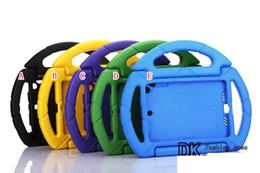 Pour le cas du caoutchouc silicone Gel Preuve Ipad Mini Kids Safe volant de choc épais Poignée Holder Cover main stand Saisissez 50pcs protection de la peau à partir de enfants ipad poignées de cas fournisseurs