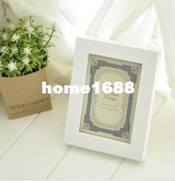 Free Shipping Vintage Photo Frame Home Decor Decoration Bedroom Desk Ornamen Wooden Wedding Casamento Gift Pictures Photo Frame