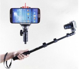 Wholesale Yunteng tripod monopod for camera and phone monopd for SLR Digital Camera i Phone s plus Gopro Sport Camera