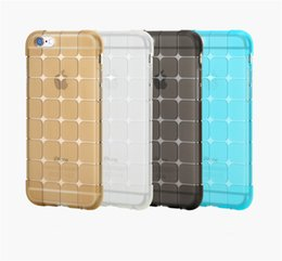 Wholesale Magic Cube Transparent gel Crystal Clear Ultra thin Soft TPU Case For iPhone S Plus Samsung S4 S5 S6 S7 Edge Note LG G3 G4 Sony Z5