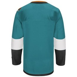 Wholesale 2015 Stadium Series San Jose Sharksteam blank teal Hockey Jerseys Ice Winter Home Away Jersey Stitched Authentic Mix Order