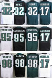 Wholesale Factory Outlet Cheap Nelson Agholor Eric Rowe Mychal Kendricks Connor Barwin Football Jerseys Auburn Embroidery Logos Stitched