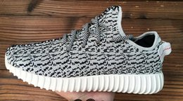 Wholesale adidas Originals Kanye Milan West Yeezy Boost Classic Gray Black Men s Fashion Sneaker Shoes With Box