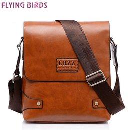 Flying birds! brand men messenger bags shoulder men bag men's travel bags high quality leather bag business handbag LS4572fb