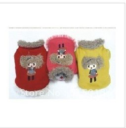 Wholesale Jimmy doll pet clothing qiu dong outfit the girl next door cotton padded clothes dog clothes teddy