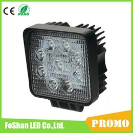 4 Inch LED Work Light 27W 12V 24V Spot Flood Lamp for Motorcycle Tractor Truck Trailer SUV Off roads Boat 4WD 4x4