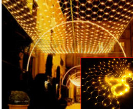6 M* 3M 640LED net lightS festival lamp hotel supplies wedding waterproof outdoor garden lights AC110V-250V