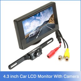 Wholesale 4 Inch Digital Color TFT LCD Car Rearview Parking Monitor Wireless Waterproof TVL Night vision Rear view Reverse Camera